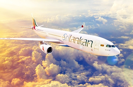 Sri Lankan Airlines In the Sky