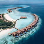 Water Villas of Grand Park Kohdhipparu resort , who won the green globe award.