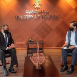 Minister Mausoom and indian high commissioner