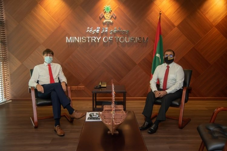 Maldives tourism minister and Honorary Consul of the Maldives in the Czech Republic