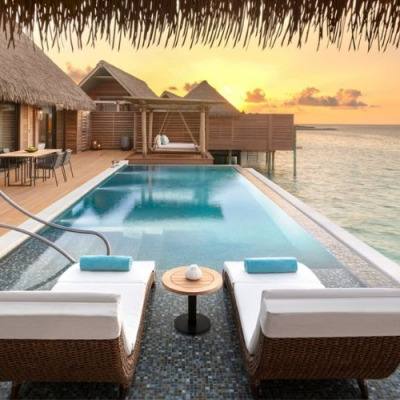 Luxury resort Waldorf Astoria Maldives Ithaafushi
