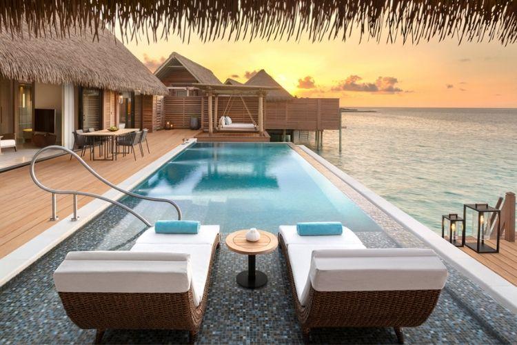 Luxury resort Waldorf Astoria Maldives Ithaafushi