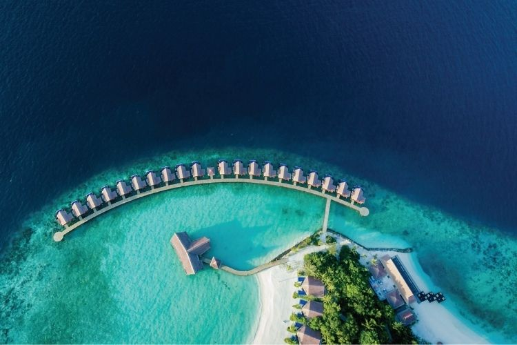 aerial view of world luxury awards nominee grand park Kodhipparu