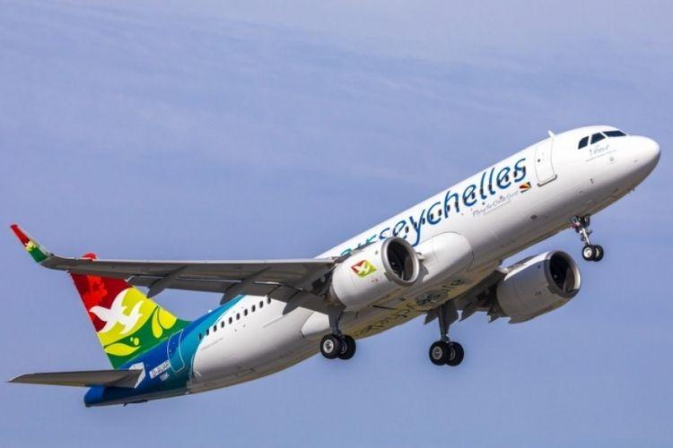 A flight of Air Seychelles