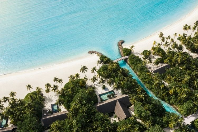 One&Only Reethi Rah aerial view