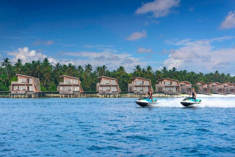 Marriott International's property in the Maldives