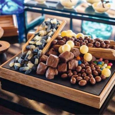 chocolate hour treats at Mӧvenpick Resort Kuredhivaru Maldives