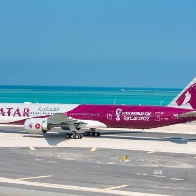Qatar Airways FIFA World Cup Qatar 2022 aircraft
