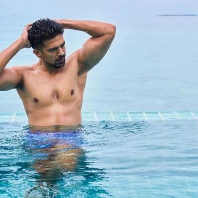 Saqib Saleem in the Maldives