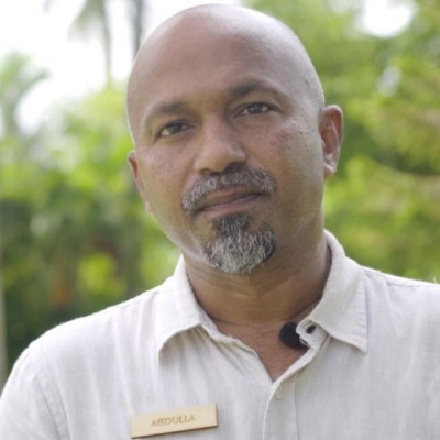 Abdulla Fathhey, general manager of Sun Island Resort Maldives