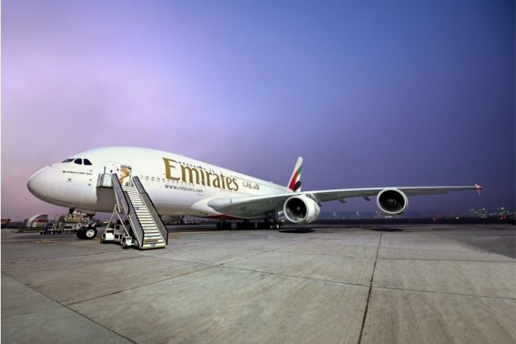 Emirates New A380