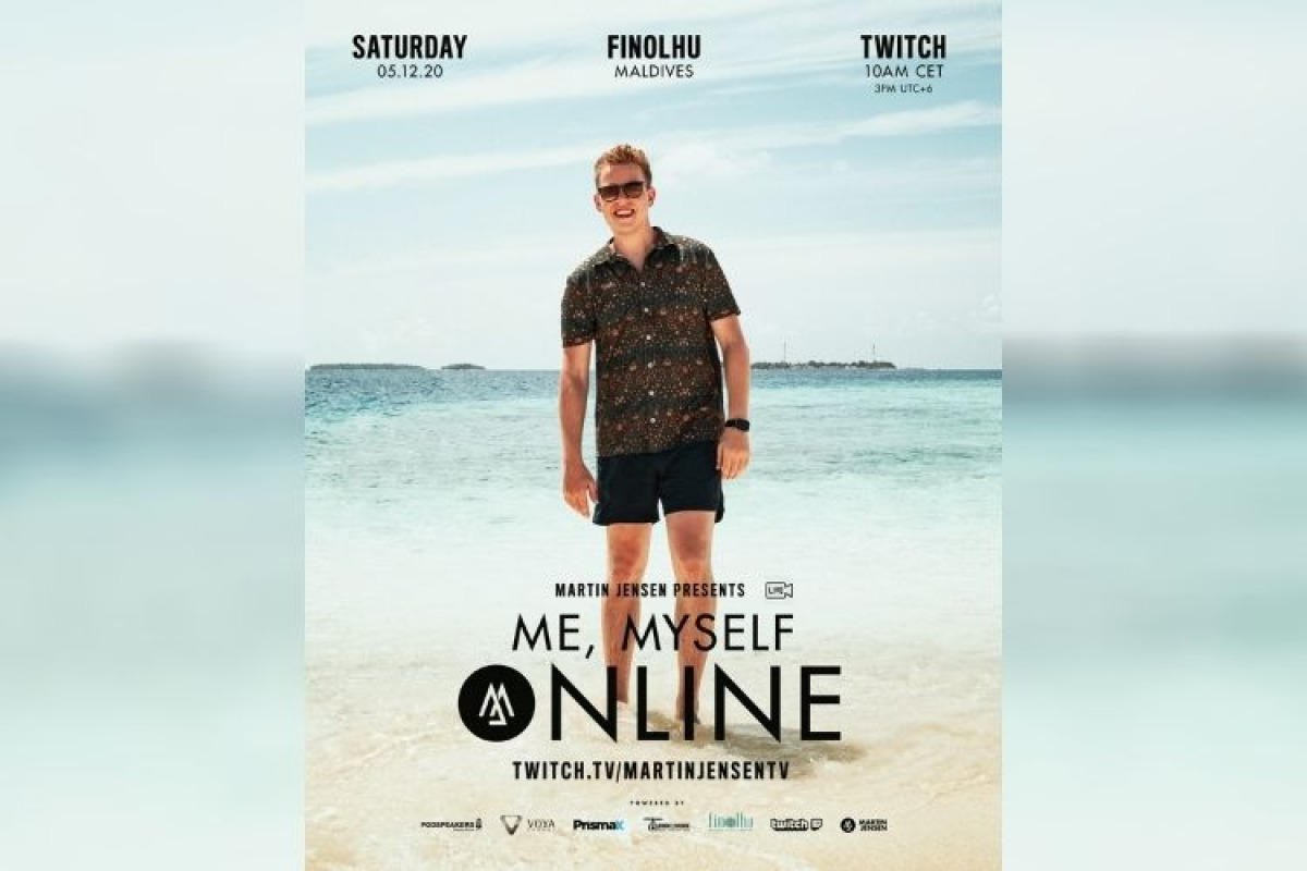 DJ Martin Jensen to Bring 'Me, Myself, Online' to Seaside Finolhu | Maldives  Travel News
