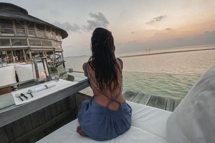 Shibani Dandekar in Maldives