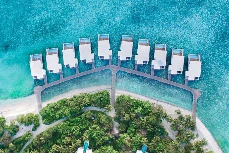 amilla maldives aerial