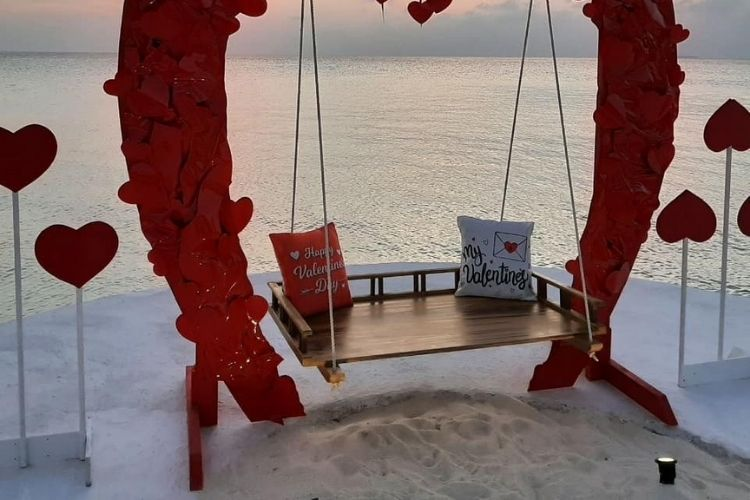 Valentine's Day Maldives