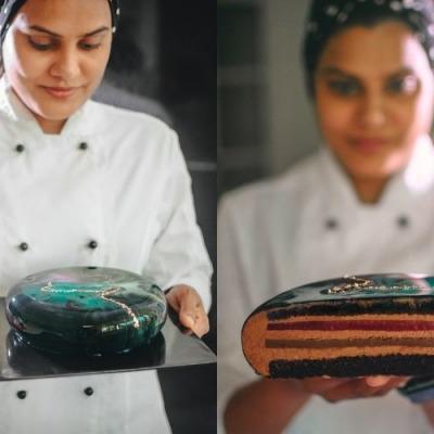 Aminath Hameed, Demi Pastry Chef at The Ritz-Carlton Maldives