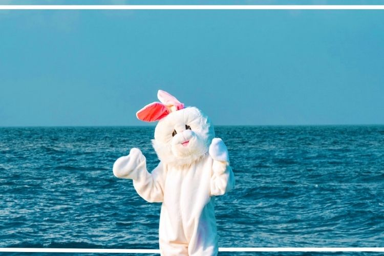 Lily Beach Resort Easter bunny