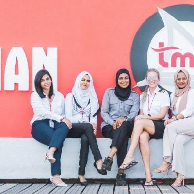 Women at Trans Maldivian Airways