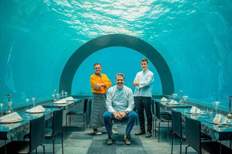 H2O By chef Andrea Berton