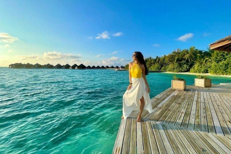 Shraddha Kapoor in the Maldives