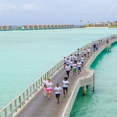 Crossroads Maldives World Oceans Day 2021 run