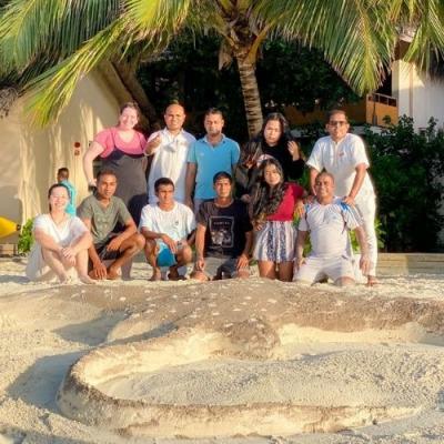 Huvafen Fushi Maldives environment