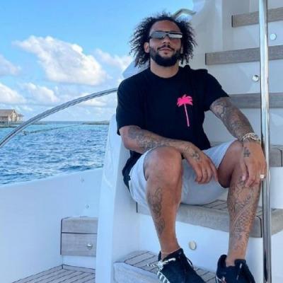 Marcelo in the Maldives
