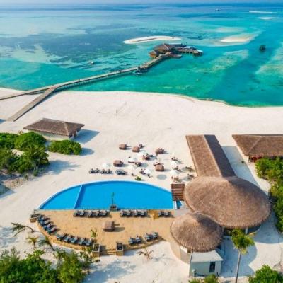 Cocoon Maldives aerial